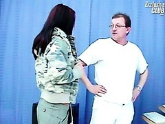 Sara gyno exam including twat speculums exam and twat enema