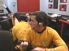 Star Trek parody with a wench in boots