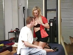 Nasty Tanya Tate get her biggest zeppelins out
