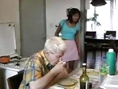 Oriental Legal age teenager Drilled By Old Fellow