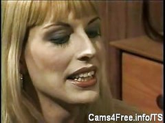 Vintage Lady-boys Suck Every Other