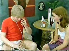 Classic Porn  Family-Kids play doctor and mamma joins in Small Dick!