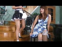 Rosa&Jessica kewl anal lesbo act