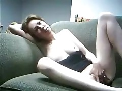 Girl starts out by rubbing her own body and getting herself turned on in advance of feeling the ramrod inside. She finishes herself off the same way this babe started, with the touch of her hands down there.