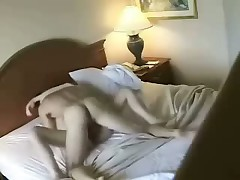 Lovely slim blonde with worthy forms fucks with her appealing man in hotel, choosing different poses to acquire abundant pleasure.