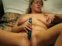 The hottest of wifes movie scenes discloses the secret of this mature lady. That babe adores being hard satisfied with sex toys and indulges every day in hot masturbation session. The wench teases her twat with a sex toy promoting its cum and cries of extreme orgasm.