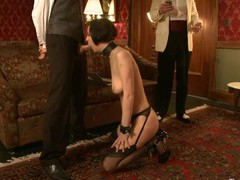 Hawt sexy babe's sexy helpers screwed and punished in bondage.