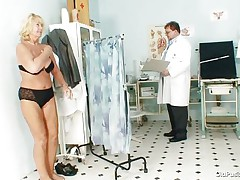 Greta often visits her doctor to check her body. Whilst this babe reaches there her doctor ordered her to put all her clothing off and then this guy begins his pussy investigation right after this guy squeezes her priceless boobs. U rally needs to watch where this doctor ends up his examination.