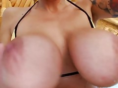 Sinful chick is squirting from strong orgasms from banging
