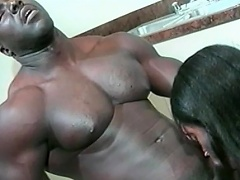 This hot black playgirl loves her stud to be big and black. Watch this...