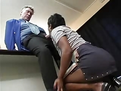Old Boss and juvenile Maid (german) -F70