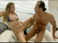 Sex on a boat with Monica Chick