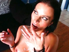 Lustful Dark brown hair MILF Bailey Brooks Can't live without Interracial Sex