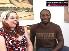 Dark Man Finds Fantastic Bbw Overweight Ass And Fucks Part 1