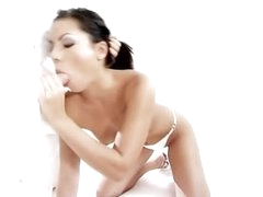 Erotic blowjob and charming sex