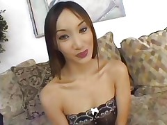 Asian Katsumi is group-fucked by a group of hawt jocks