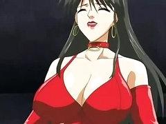 Big titted female-dominator fucks and sucks stud