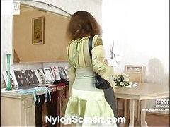 Sophia&Mike sexy nylon episode scene