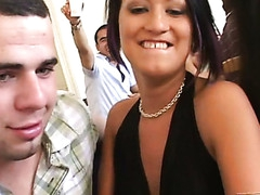 Wonderful-looking young sex party scene will drive u eager