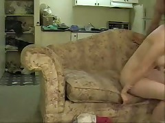 A very hot girl lets a older guy live out his dream of making a homemade porno movie.