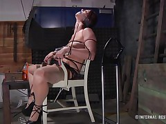 This is art, and as u can watch in the First scene we have a brown haired slut bound on a char and punished with electric shocks on her pussy. Then we get to watch the same bitch and some other one bound in position 69 on the bed. If it excites u then why not watch it, it surely deserves your time and attention!
