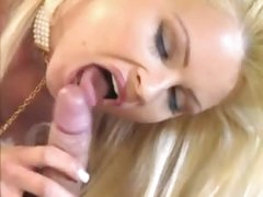 Spruce hot blond is into erotic sex