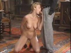 Marvelous European gal has hot anal sex