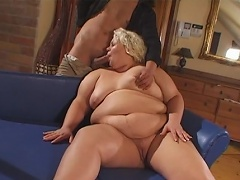 Receive willing to be flabbergasted by this fat and agreeable blond bitch...