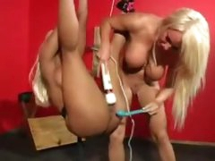 That babe hangs in thraldom and is toyed