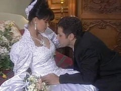 Spectacular Dark brown hair Tania Russof Receives Screwed On Her Wedding Night