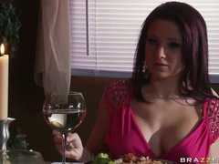 Spectacular Dark brown Charity Bangs Acquires Drilled and Jizzed On Her Jugs