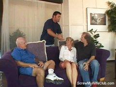 Lustful Swinger Wife Is Screwed!