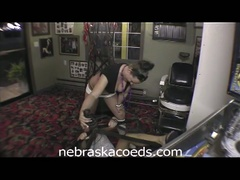 Vacation home movie for naughty youthful coeds