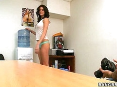 You can take your garments off.., I don't mind (Bang Bros » Backroom MILF)
