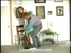 Ninette&Adrian horny nylon episode scene