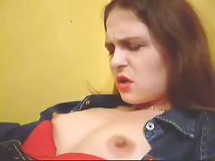 Watch now home-video of heartless dark brown hair with large love bubbles and hard teats getting plenty of incredible pleasure.