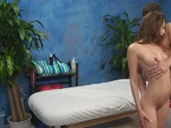 Gia tempted and screwed by her massage therapist on hidden camera