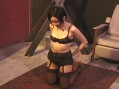 Babe becomes pliant and the ropes leave her vulnerable