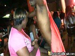 Dickgrabbing at girlparty