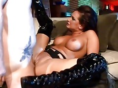 Tory Lane is butt fucked in her sexy boots
