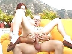 Shawna Edwards enjoys a rough cum-hole pounding