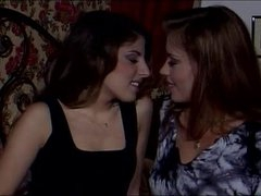 Nice-looking German Lesbian babes Action