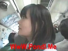 [Japan Porn] Public Blowjob On Bus  02
