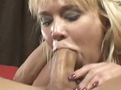 Breasty Schlong Wench Carly Parker Giving A Sloppy Mean Fellatio sex On Rock Hard Schlong