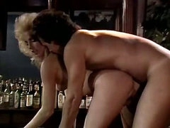 70s porn shows crazy love making scene in the bar