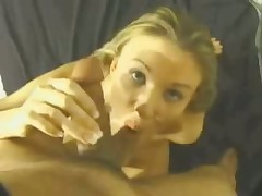 This whore's lengthy skilful tongue gives chap with camera in his hands lots of incredible sexy feelings.