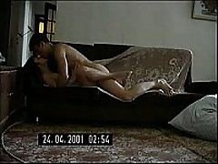 Short-haired Russian mommy decided to try having sex with the stud half her age. She didn't regret it for a second, this stud is a freak like that babe is and is fine with making home sextapes.