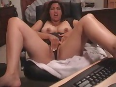 Latin babe receives her bawdy cleft fucked and stroked by her beloved toy. She started with tender touches and finishes with pounding.