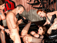 Rocco is a prisoner and fucks 3 gorgeous large love billibongs rebels !