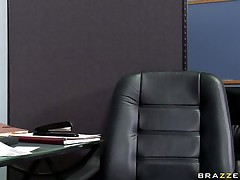 See this sexy sweetheart entering her bosses office asking for some money. Look at her big brassiere buddies and her soaked lips sucking that big cock. Suddenly his wife comes in and this chab freaks out but the slutty doxy still doesn't wish to leave. Is this babe going to get some supplementary money?